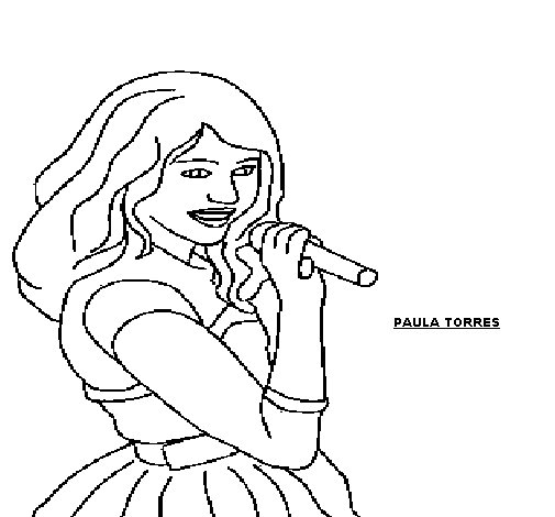 Hanna coloring page