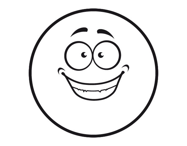 smiley coloring pages - photo#10
