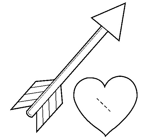arrows coloring pages - photo#23
