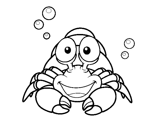 Hermit Crab Colouring Pages Free Printable Hermit Crab Coloring
