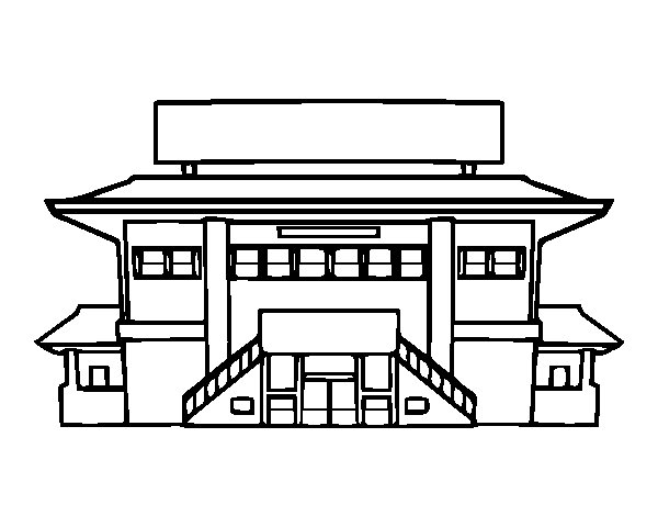high school coloring pages. High school coloring page  Coloringcrew com