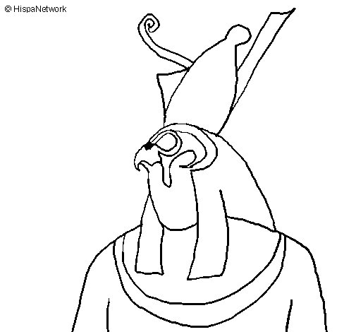 Horus coloring page