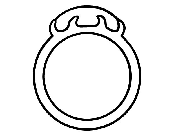coloring pages of rings - photo#15