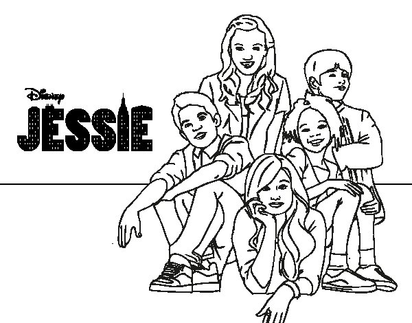 Coloring Pages Disney Channel Characters