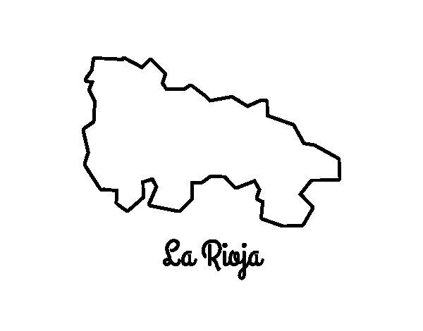 La Rioja coloring page
