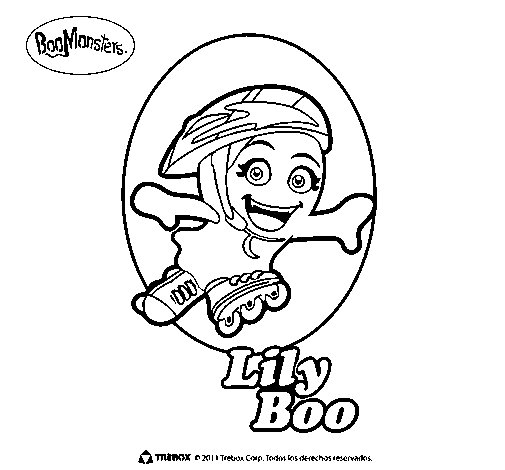 LilyBoo coloring page