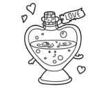 Dibujo de Love potion