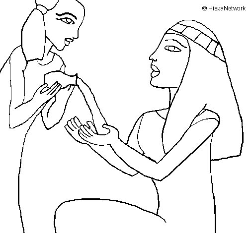 Make-up session coloring page