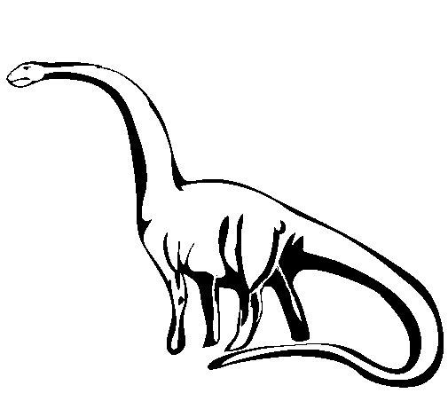 Mamenchisaurus coloring page