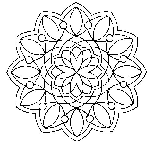 Mandala 20 Coloring Page Coloringcrewcom