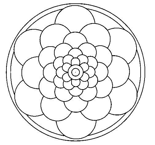 Mandala 22 coloring page