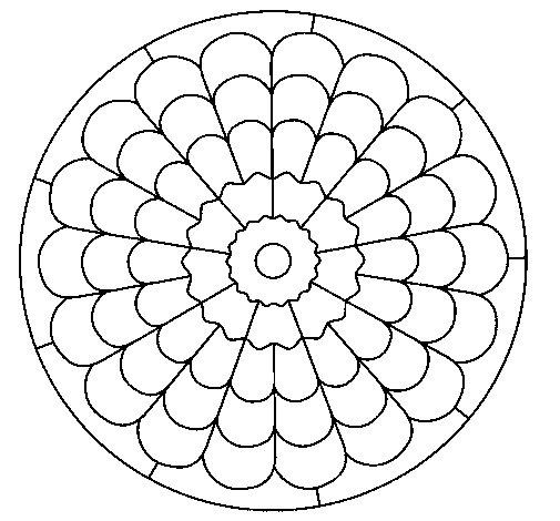 Mandala 23 coloring page