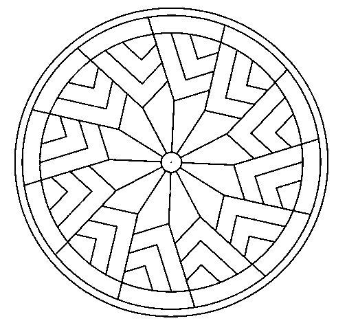 Mandala 24 coloring page