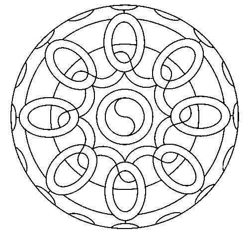 Mandala 26 coloring page