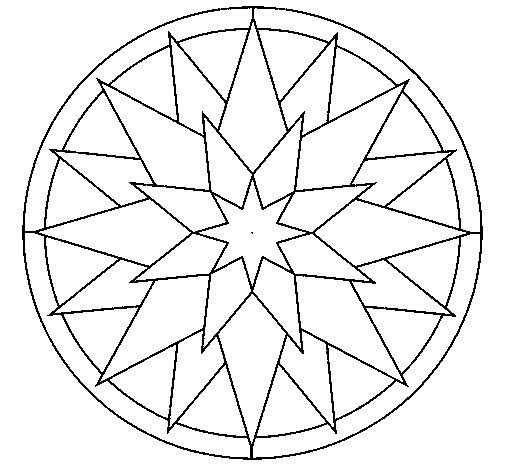 Mandala 28 coloring page