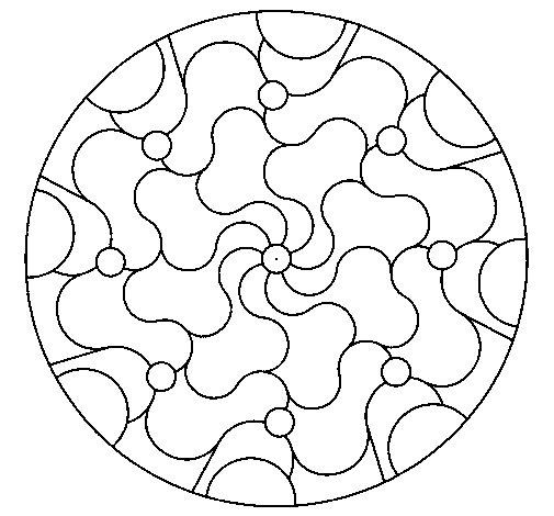Mandala 32 coloring page