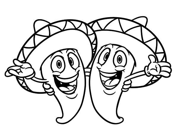 Mexican Dancer Coloring Sheet Coloring Pages Mexican Coloring Pages