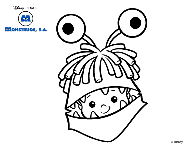 monsters inc coloring pages activity disney nights