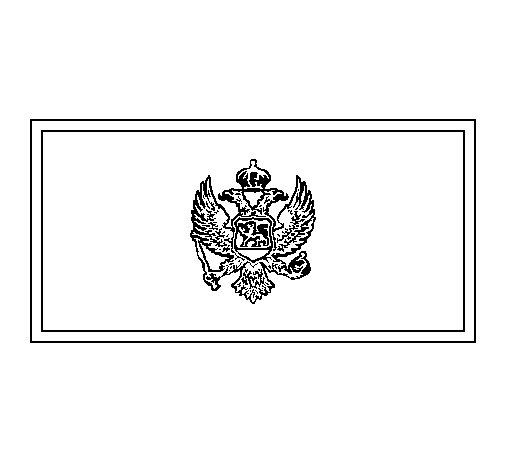 Montenegro coloring page