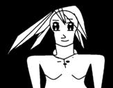 Dibujo de Moon girl