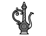 Morroco Teapot  coloring page