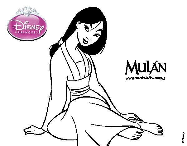 Princess Mulan Coloring Pages. Mulan Mushu Coloring Pages. Ray The ...