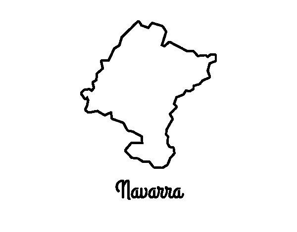 Navarra coloring page