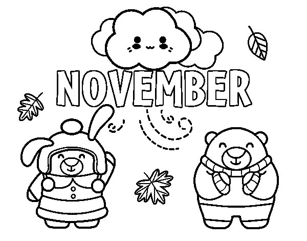 november coloring pages - photo#7