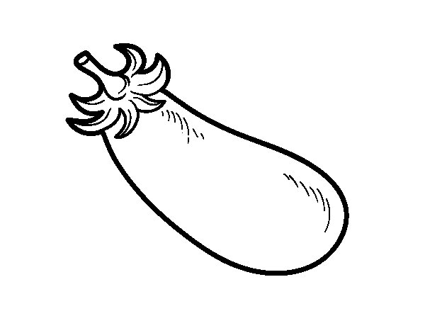 eggplant coloring pages - photo#12
