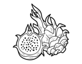 Passion Fruit coloring page