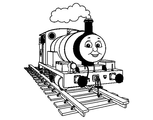 Percy The Green Engine Coloring Page Coloringcrew Com Percy Coloring Pages