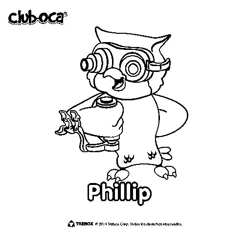 Philip coloring page