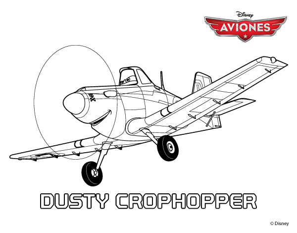 dusty crophopper coloring pages - free dusty crophopper coloring pages