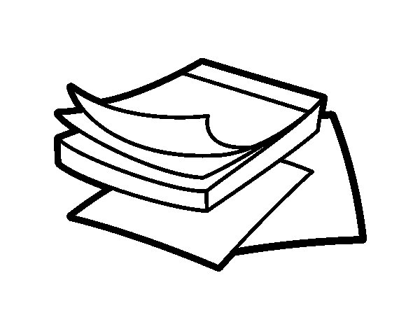Post It Notes Coloring Page Coloringcrew Com Note Coloring Pages