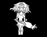 Dibujo de Princess fox
