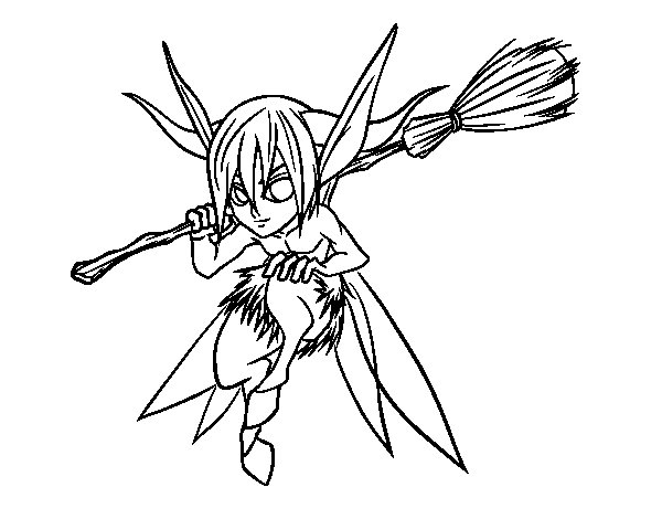 Puck coloring page