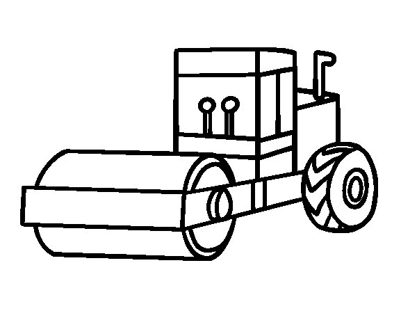 Roller coloring page
