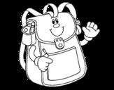 Dibujo de School Backpack