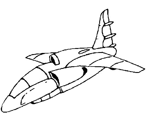 Ship landing coloring page