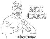 Sin Cara coloring page