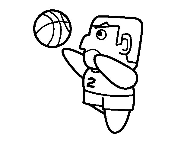 Small forward coloring page