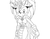 Sonic's mother coloring page