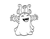 Dibujo de Sympathetic extraterrestrial