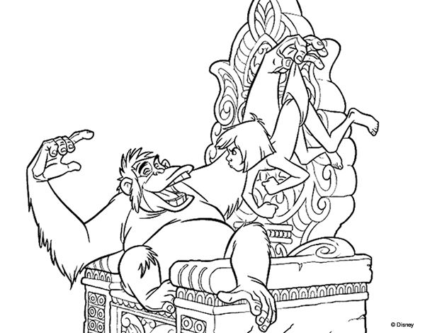 King Louie Coloring Pages