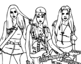 The Sweet California! coloring page
