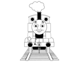 Thomas from Thomas and friends coloring page