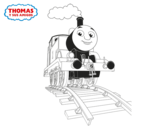 Dibujo de Thomas up