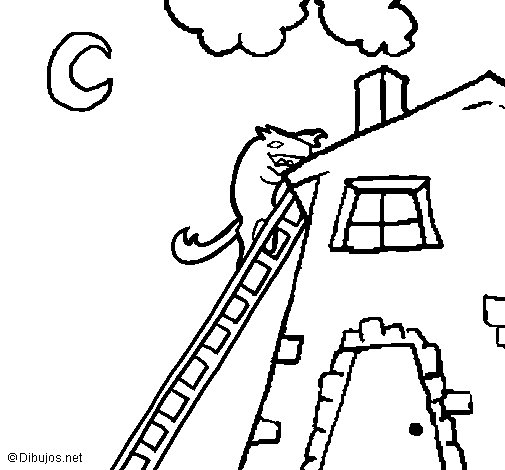 Three little pigs 16 coloring page