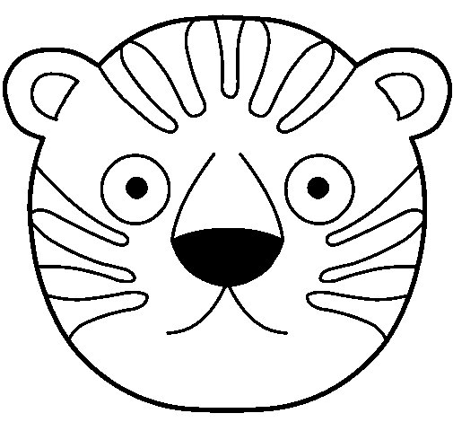 Tiger II coloring page