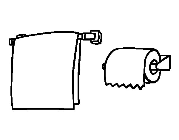 Toilet Hand Towels